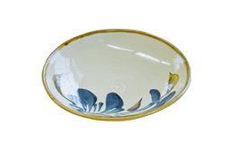 チャンプルー皿(唐草)