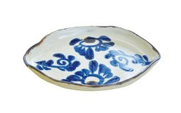 だ円皿(菊紋)