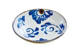 チャンプルー皿(菊紋)