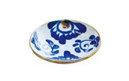 丸小皿(菊紋)