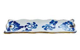 長皿(菊紋)